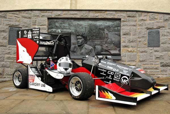 Cardiff University – Formula Student – Dragon Laser